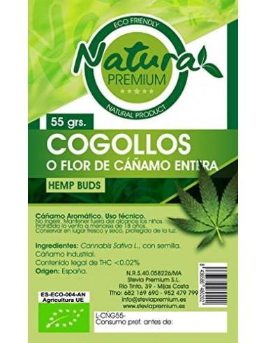 CAÑAMO COGOLLOS/FLORES 55GR ECO