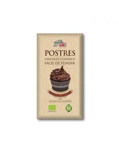 CHOCOLATE PARA POSTRES 200GR BIO SOLE